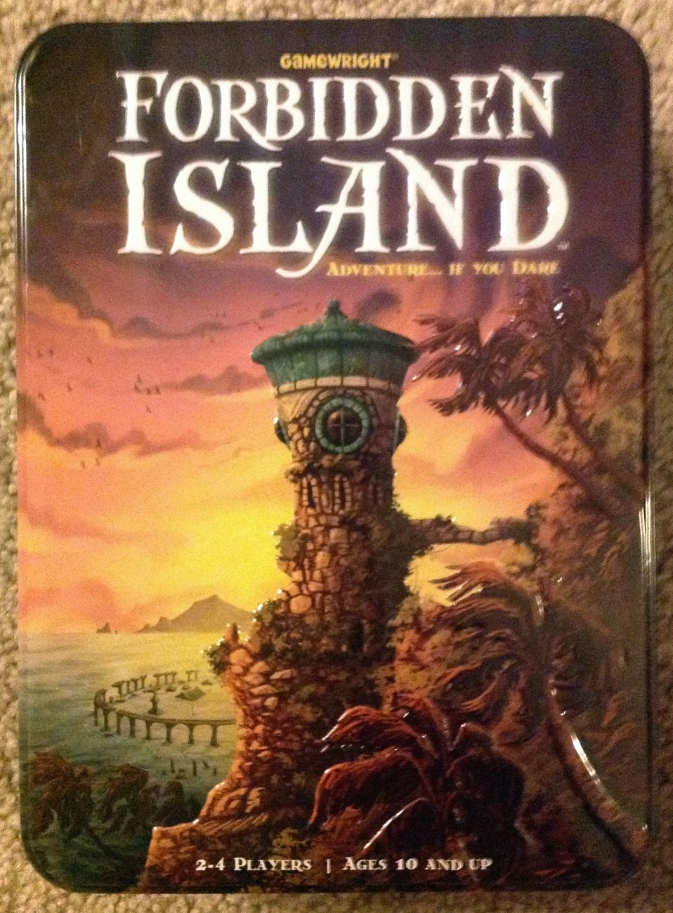Forbidden Island - brætspil