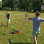 Transportabelt Badmintonsæt